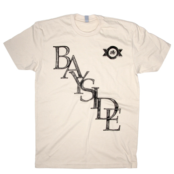 Bayside - Stamped Logo on Natural - T-shirts