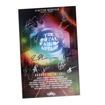 Royal Family - Royal Family Affair Signed Poster - Posters