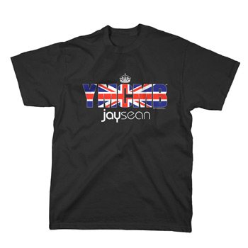 Jay Sean - Union Jack on Black - T-shirts