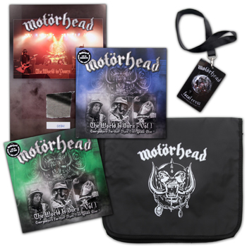 Motorhead - The World Is Ours Bundle Bag - Vinyl
