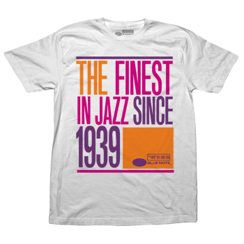 Blue Note - ART1939 White - T-shirts