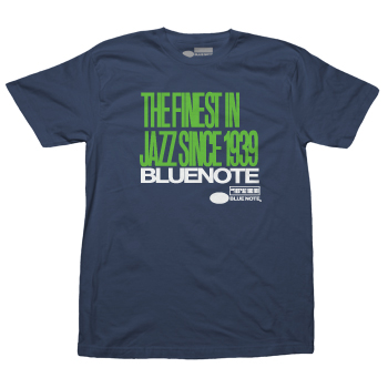 Blue Note - Finest Jazz Stacked - T-shirts