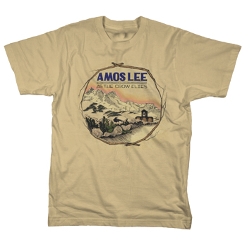 Amos Lee - As The Crow Flies - T-shirts