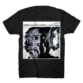 Robert Glasper Experiment - Shattered on Black - T-shirts