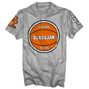 Glassjaw - Basketball on Heather Grey - Sale Items