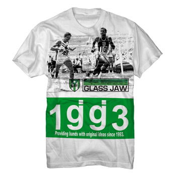 Glassjaw - Coliseo on White Fine Jersey Slim Fit - Sale Items