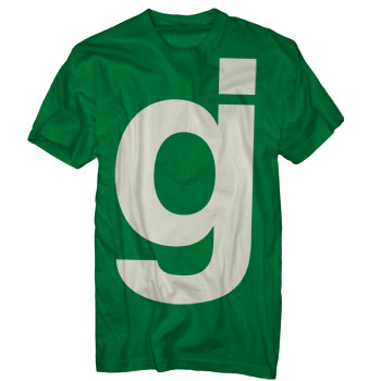 Glassjaw - Oversized GJ Kelly Green - T-shirts