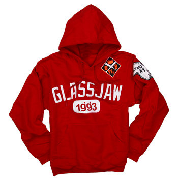 Glassjaw - Ritmo De Equipo on Red Pullover - Sale Items