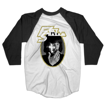 Foxy Shazam - Baseball Tee on White - T-shirts