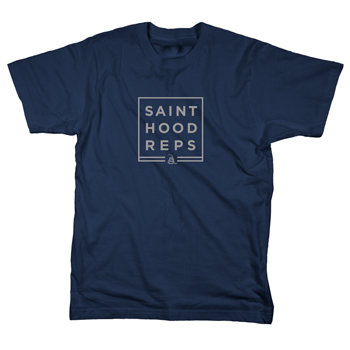 Sainthood Reps - Snake Block on Navy - T-shirts