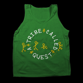 A Tribe Called Quest - Reggae Circle on Kelly Green - T-shirts