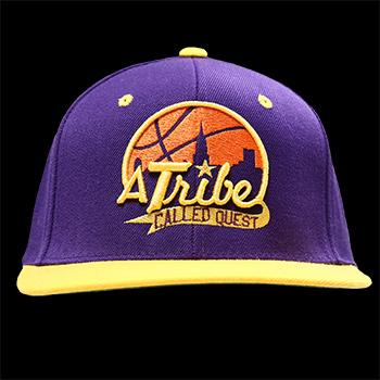 A Tribe Called Quest - Basketball City on Purple - Hats