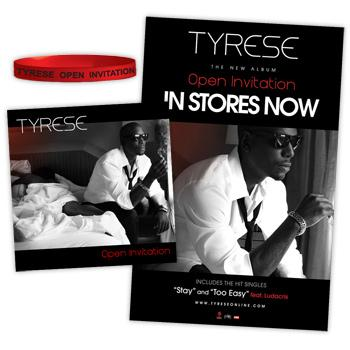 Tyrese - O.I.: Re-Loaded Tier 1 Bundle - CDs