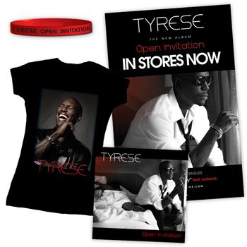 Tyrese - O.I.: Re-Loaded Tier 2 Bundle - CDs