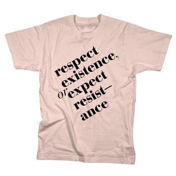 Sparrow Media Project - Respect on Summer Peach - T-shirts