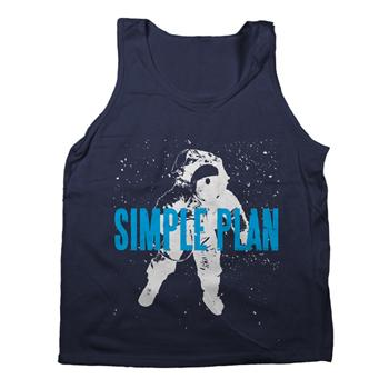 Simple Plan - Astronaut Tank - Tank Tops