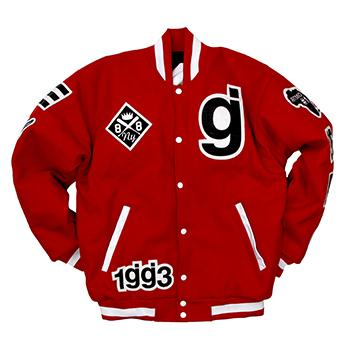 Glassjaw - WXT Varsity Jacket on Red - Jackets
