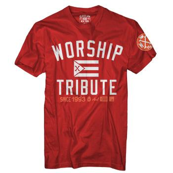 Glassjaw - WXT Flag T-Shirt on Red - T-shirts