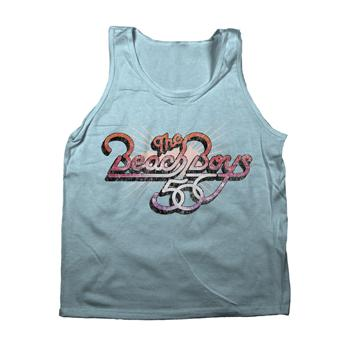 The Beach Boys - 50th Tank Top on Light Blue - Tank Tops