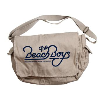 The Beach Boys - Beach Boys 50th Messenger Bag on Natural - Bags