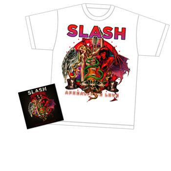 Slash - T-Shirt Bundle  CD - CDs