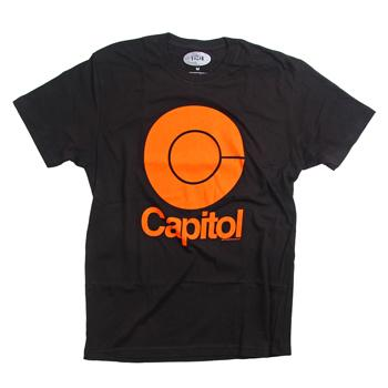 Capitol - Mod on Black - T-shirts