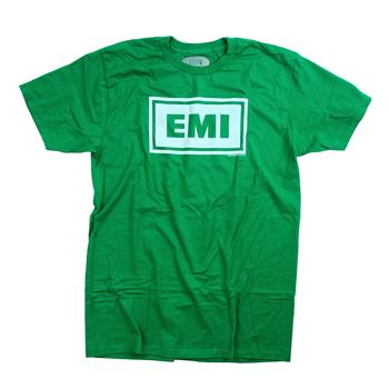 Capitol - EMI Logo on Kelly Green - T-shirts