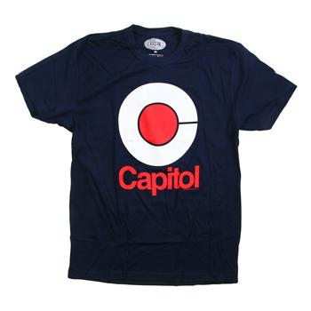 Capitol - Mod on Navy - T-shirts