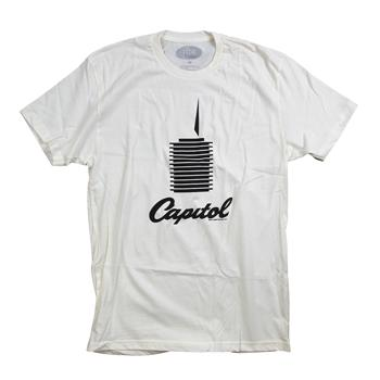 Capitol - Tower on Natural - T-shirts