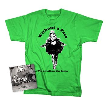 Without A Face - The 1st Album Was Better T-shirt Combo - CDs