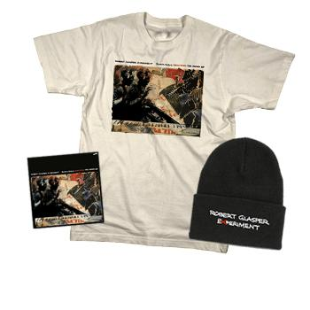 Robert Glasper Experiment - Signed CD EP + Beanie + T Shirt Package (Limited!) - Combos