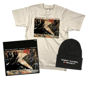 Robert Glasper Experiment - Signed Vinyl EP + Beanie + T Shirt Package (Limited!) - Combos