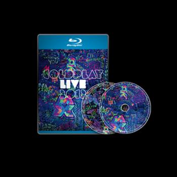 Coldplay - Live Blu-Ray + CD - Blu-ray