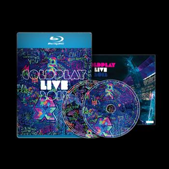 Coldplay - Live Blu-Ray & CD + Poster - Blu-ray