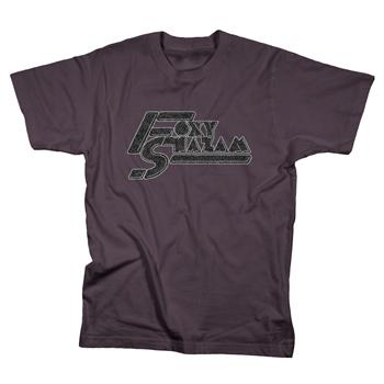 Foxy Shazam - Glitter Logo on Smoke - T-shirts