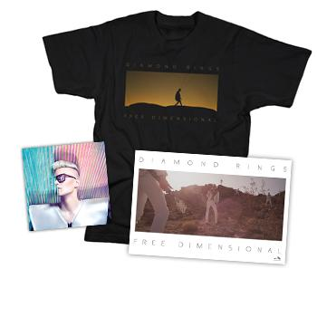 Diamond Rings - CD + Poster + T Shirt - CDs