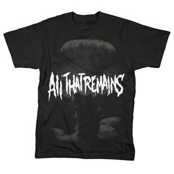 All That Remains - Total Annihilation on Black - T-shirts