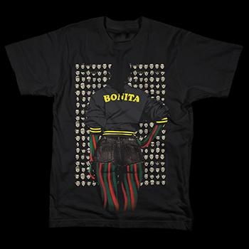 A Tribe Called Quest - Bonita Photo on Black - T-shirts