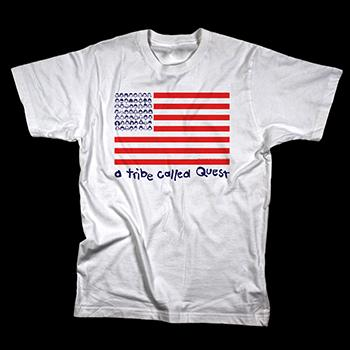 A Tribe Called Quest - Face Flag - T-shirts