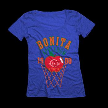A Tribe Called Quest - Bonita Hoops Womens on Royal Blue - Women's