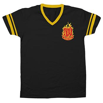 Say Anything - Crest Jersey on Black - T-shirts