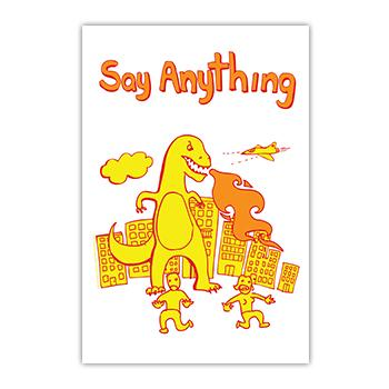 Say Anything - Dino Poster - Posters