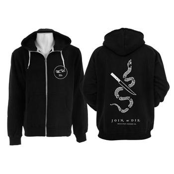 Solid State - Join Or Die Zip-Up - Sweatshirts