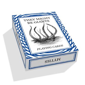 They Might Be Giants - TMBG Playing Cards - Accessories