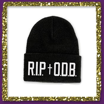 Ol Dirty Bastard - RIP ODB Beanie on Black - Hats