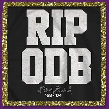 Ol Dirty Bastard - RIP ODB Crew Neck on Black - Sweatshirts