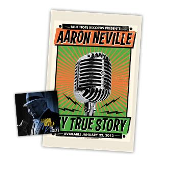 Aaron Neville - CD + Poster - Combos
