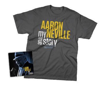 Aaron Neville - CD + T-Shirt - Combos
