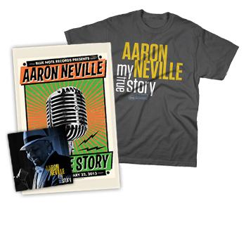 Aaron Neville - CD + T-Shirt + Signed Poster - Combos