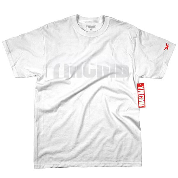 YMCMB - White on White - T-shirts